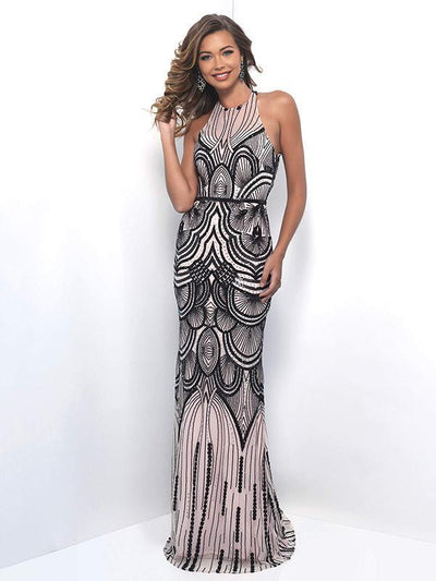 Sequined Backless Sexy long Party Dresses