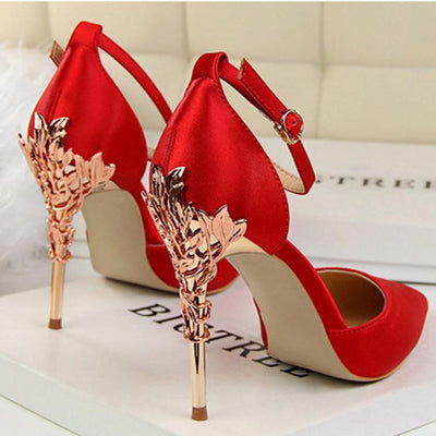 Fashion Shallow Pointed Tip Sandals Wedding Party Woman Shoes