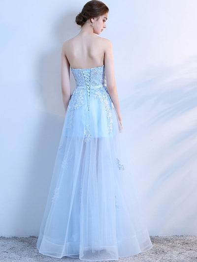 EmbroiderySashes Solid Color Maxi Wedding Dresses