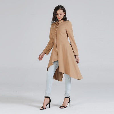 Fashion Pure Wool Women Coat