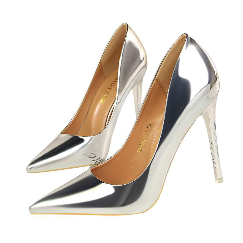 Fashion High-heeled  Pointed Toe Pump Shoes
