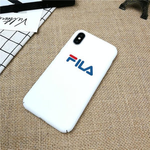 coque iphone 8 rouge fila