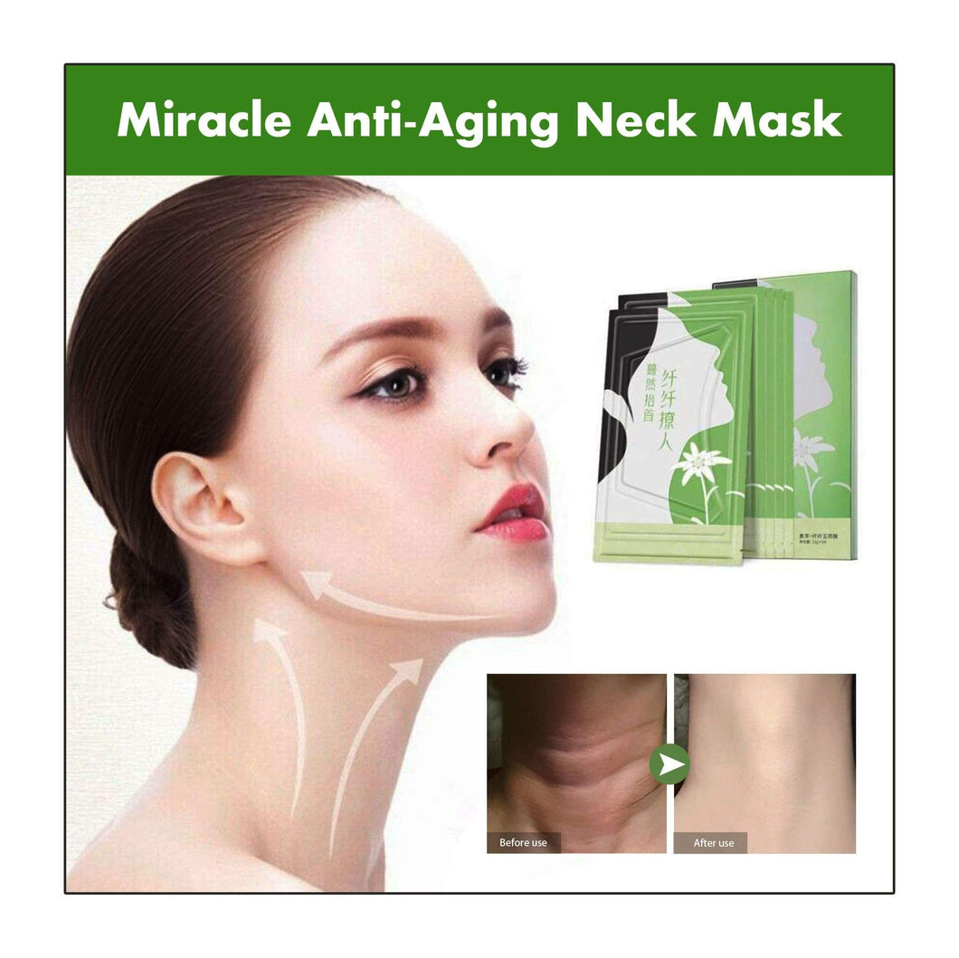 MIRACLE ANTI-AGING NECK MASK (5 pcs)