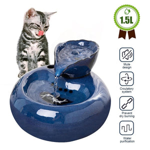Automatic Pet Water Dispenser Fountain