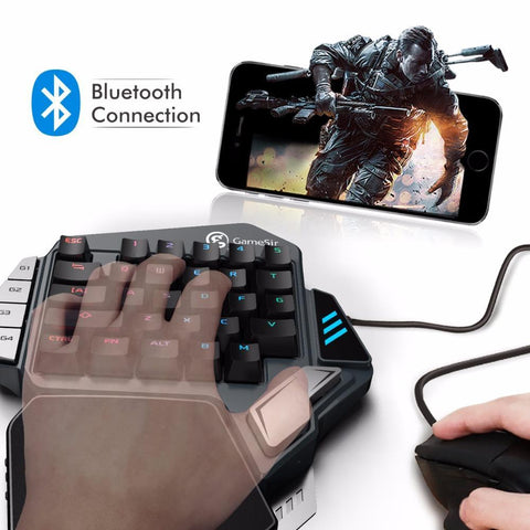 Aladdin Single-Handed Mechanical Gaming keypad