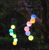 Solar-Powered Dangling Dandelion Lights