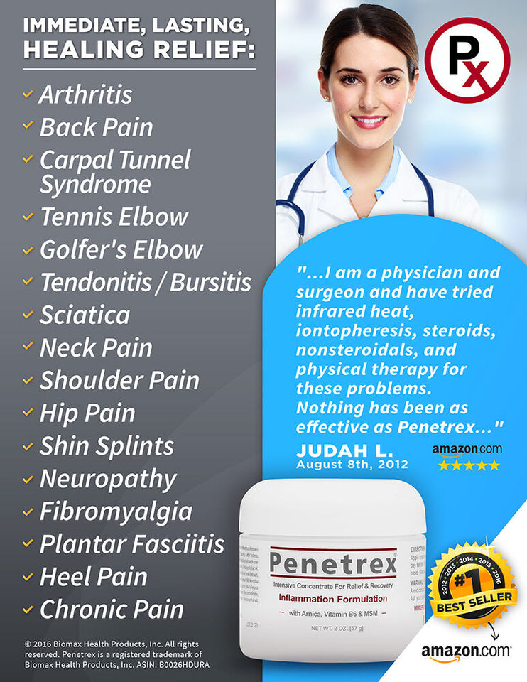 Penetrex Arthritis Pain Relief Cream
