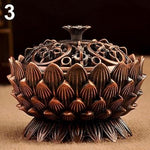 Lotus Shape Zinc-copper Alloy Incense