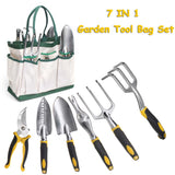 7Pcs Garden Tool Set Stainless Steel