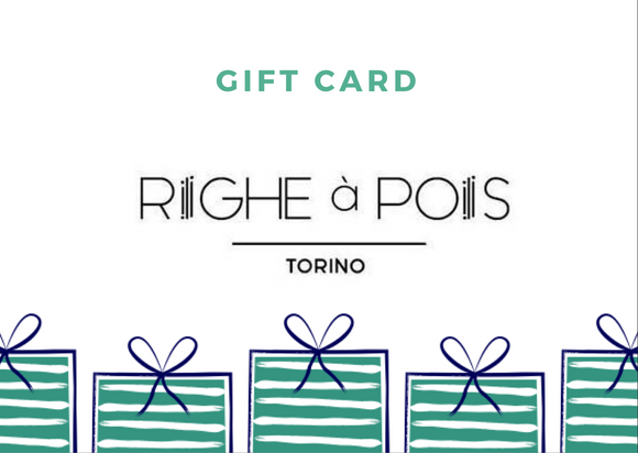 Gift Card - Righe à Pois