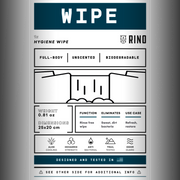 Hygienic wipes