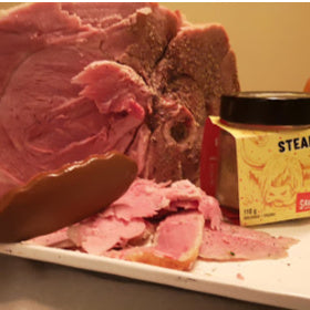 Slow cooker pork shoulder ham recipe