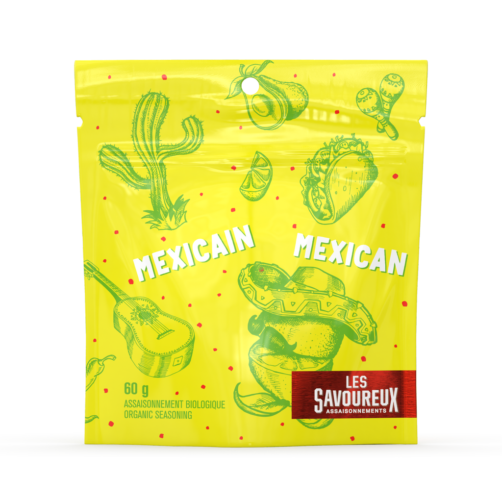 Mexican Seasoning - Organic Spices - Mexican Flavors