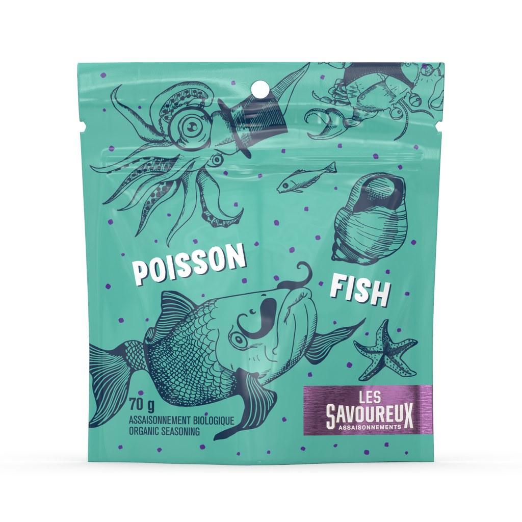 Fish seasoning - organic spices 70g