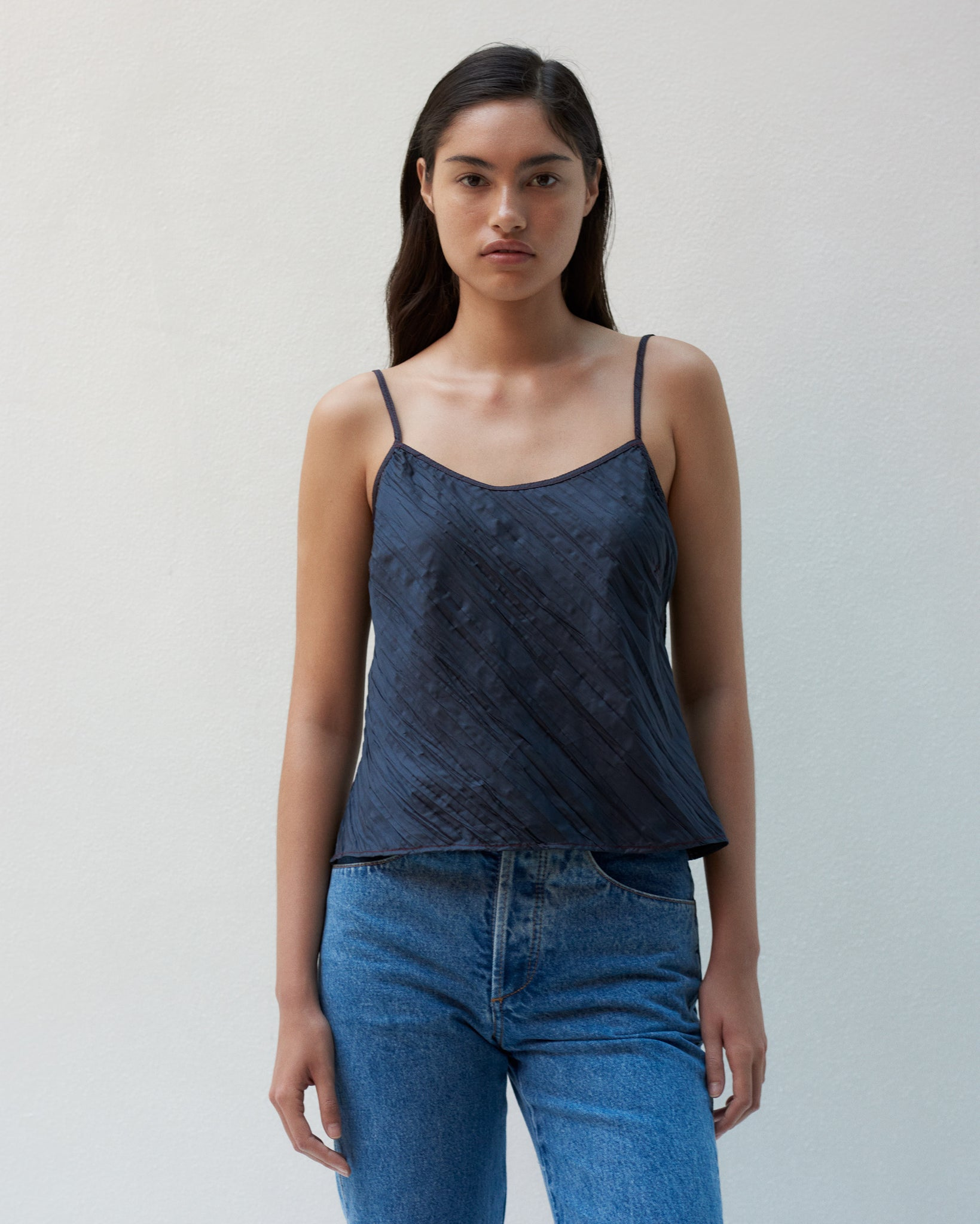 WRINKLE CAMISOLE