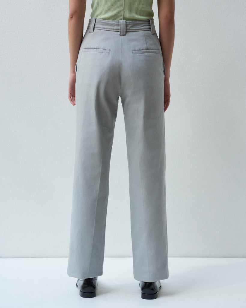 BARRACK TROUSER IN CHINO TWILL