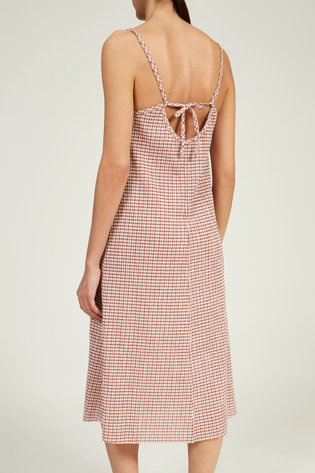 Slip Dress in Gingham