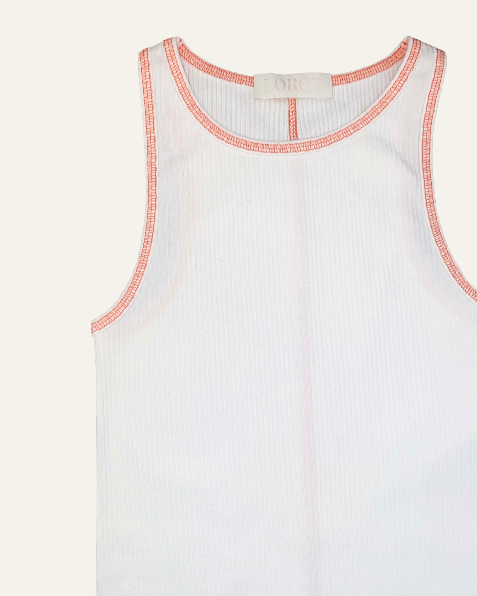 CLASSIC TANK IN RIBBED COTTON
