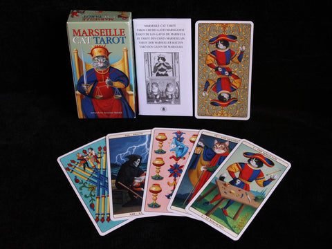 Le Marseille Cat Tarot