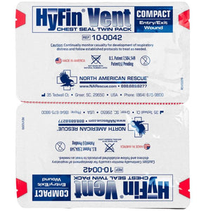 HyFin Chest Seal Compact (Twin Pack)