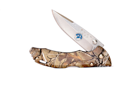 Buck Bantam lock blade Knife with USA Logo.