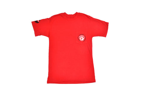 2016 USA Shooting Tour Pocket T-Shirt Red