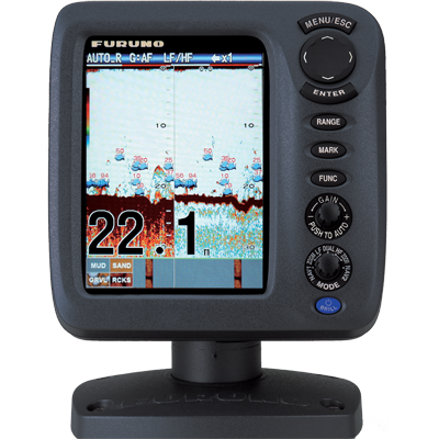 "Fishfinder, 5.7"", 50/200 KHz, No Xdcr"