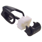 Saunders Hyper Glide Slide Black 3-8 in.
