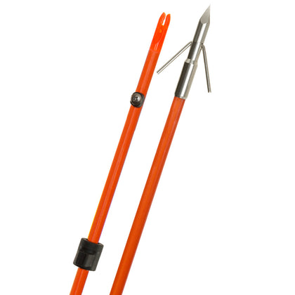 Fin-Finder Raider Pro Arrow Orange w-Riptide Point