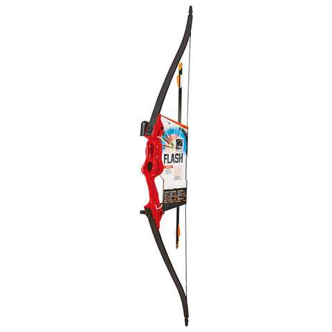 Bear Flash Bow Set Red 16-24 in. 5-18 lbs. RH-LH