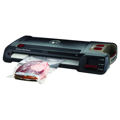 Food Saver Game Saver Big Game Plus Vacuum Sealer Black-red