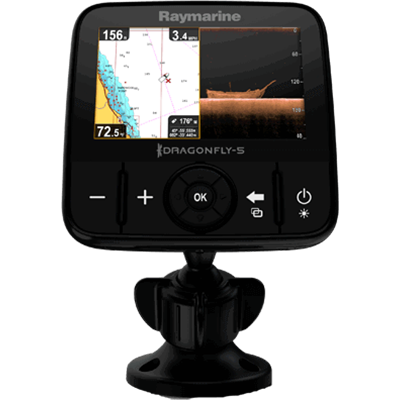 Fishfinder, Dragonfly 5DVS DownVis./Std