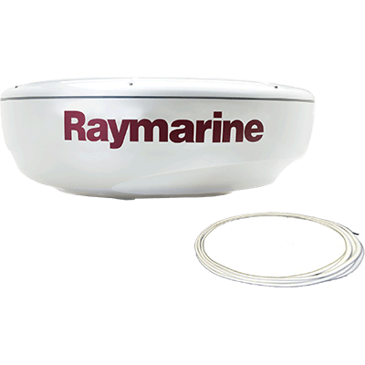 "Radar, HD, 4KW, 18"" Dome, RayNet Cable"