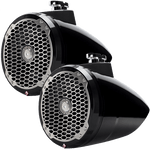"Punch M2 8"" Marine Tower Spkr Black Pair"