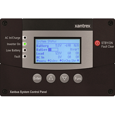 Xanbus System Control Panel / no cable