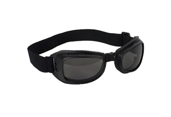 fire-lilie,Riding Goggles With Smoke Lens,Biker Glasses,Dealer Leathers Wholesale