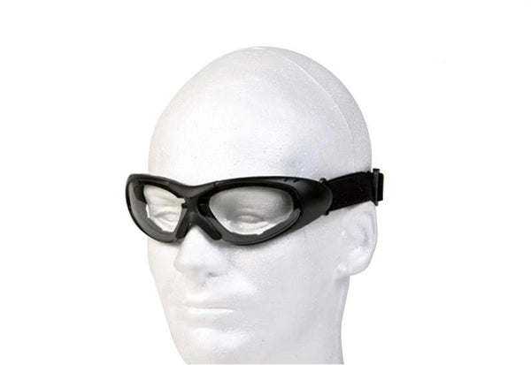 fire-lilie,Motorcycle Goggles With Clear Lens,,Mountain Leathers