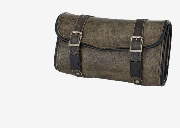 fire-lilie,Brown Leather Motorcycle Tool Bag,Tool Bag,Dealer Leathers Wholesale