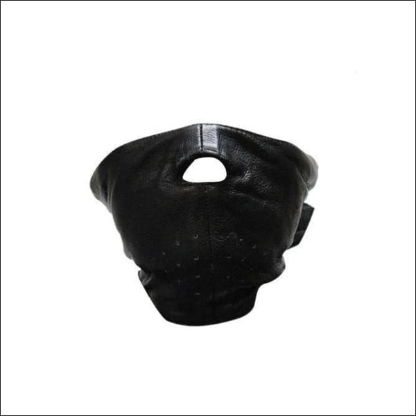 Biker Leather Motorcycle Face Mask - Motorcycle Face Mask