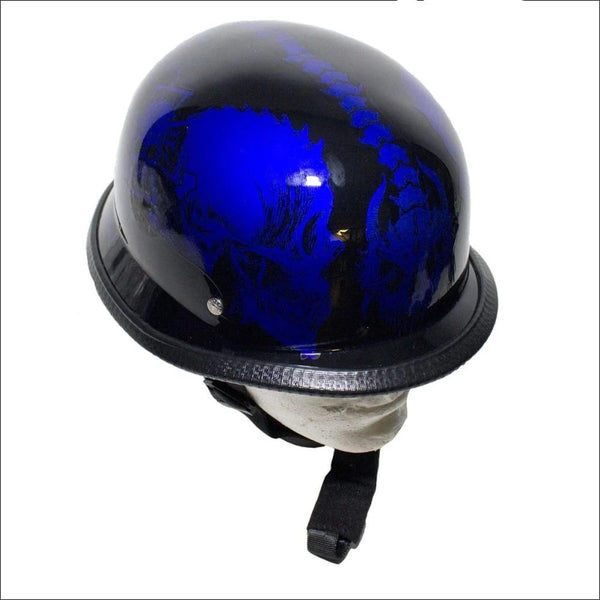 Blue Skull Novelty Helmet - Novelty Helmet