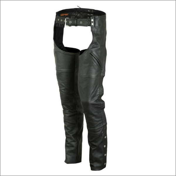 Dual Deep Pocket Unisex Chaps - DS410 Dual Deep Pocket Unisex Chaps