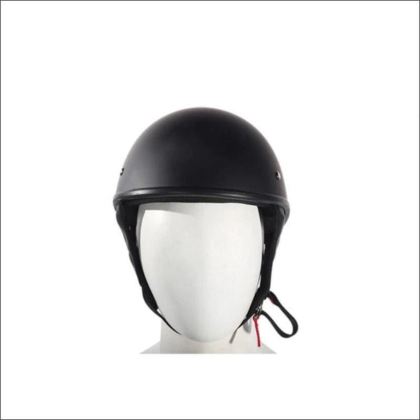 Flat Black DOT Approved Motorcycle Helmet - Motorcycle Helmet