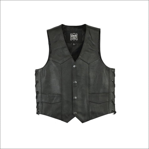 Kids Traditional Style Side Lace Vest - DS1726 Kids Traditional Style Side Lace Vest