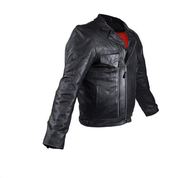 Mens Leather Motorcycle Jacket - Mens Leather Motorcycle Jacket
