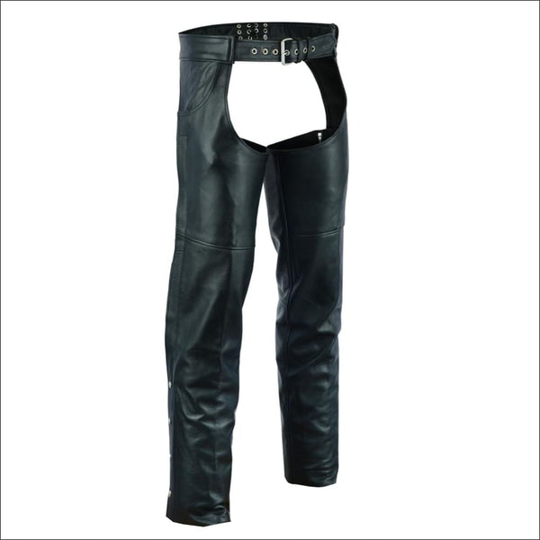 Unisex Chaps with 2 Jean Style Pockets - DS405 Unisex Double Deep Pocket Thermal Lined Chaps