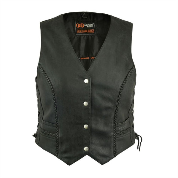 Womens Braided Vest - DS222 Womens Braided Vest