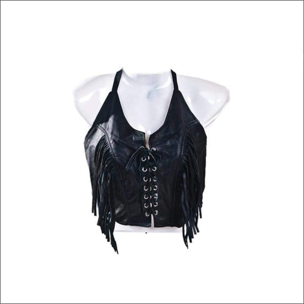 Womens Leather Top - Leather Halter
