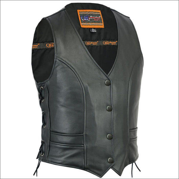 Womens Stylish Full Cut Vest - DS271 Womens Stylish Full Cut Vest