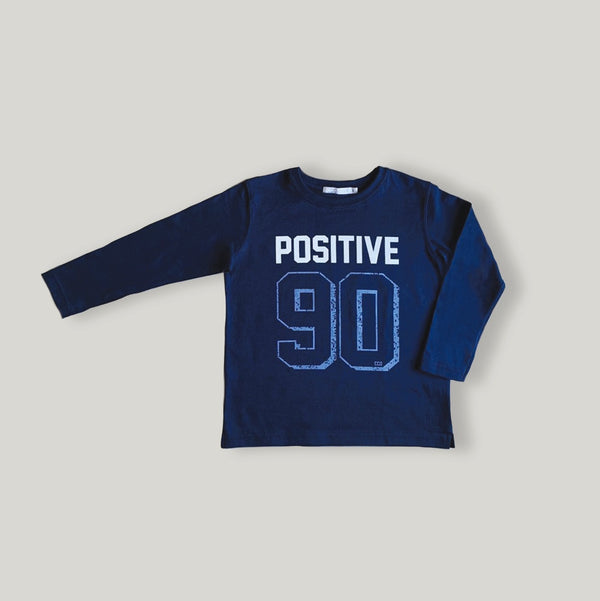 Remera positive mangas largas