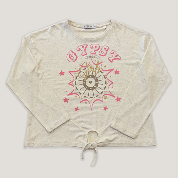 Remera Nudo Gypsy Natural